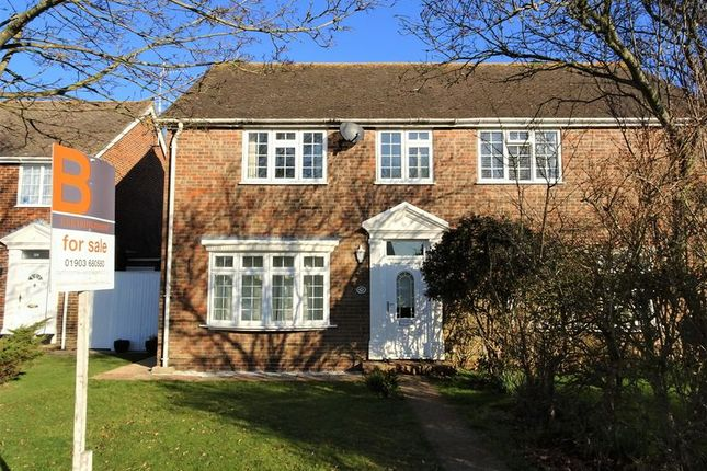 Thumbnail Semi-detached house to rent in Singleton Crescent, Goring-By-Sea, Worthing