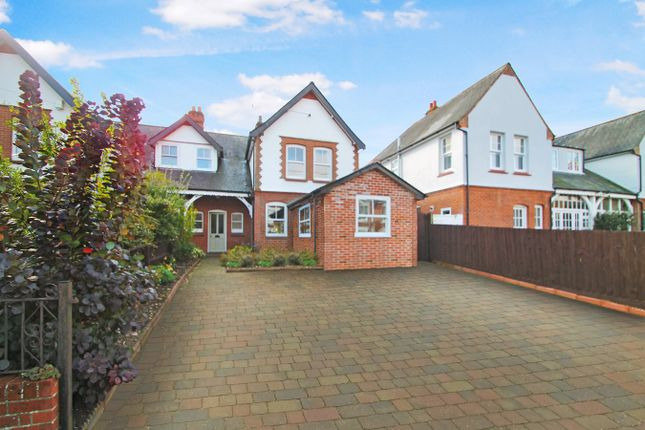 Semi-detached house for sale in Temple Road, Stowmarket