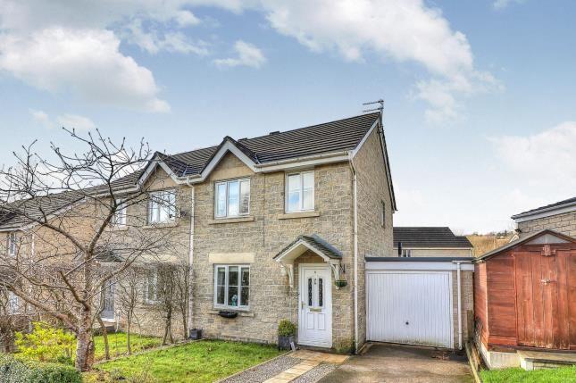 Thumbnail Semi-detached house for sale in Wood Clough Platts, Brierfield, Nelson, Lancashire