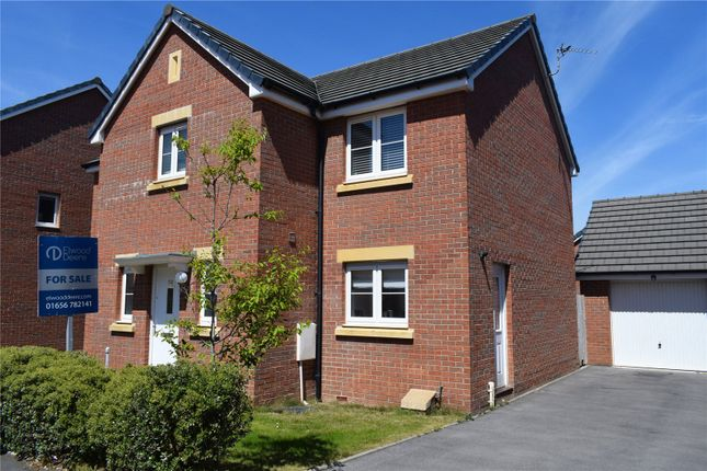 Thumbnail Detached house for sale in Clos Y Mametz, Porthcawl