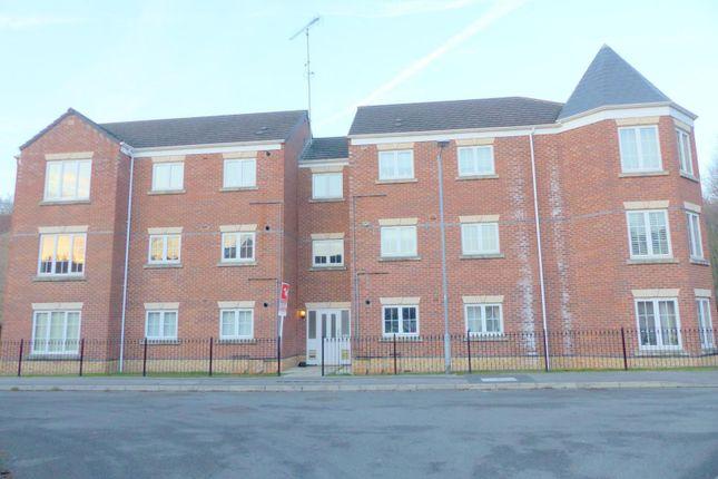 Thumbnail Flat to rent in Heathfield Way, Mansfield