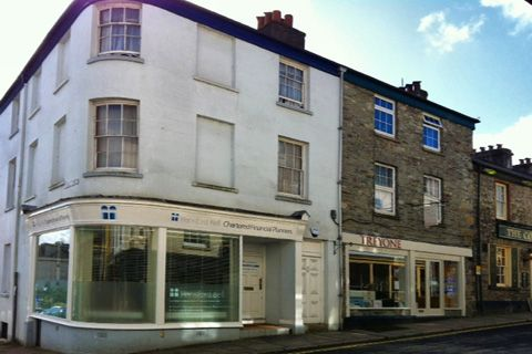 Thumbnail Flat to rent in 14 West Street, Tavistock