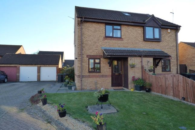 2 bed semi-detached house for sale in Haycroft, Wootton, Bedford