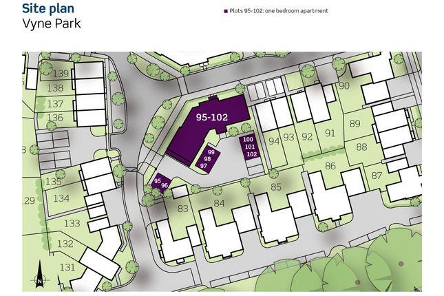 Siteplan of Gallery Road, Basingstoke RG24