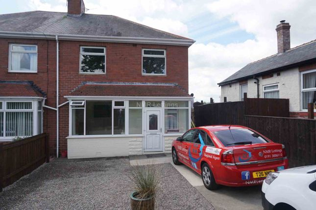 Thumbnail Semi-detached house to rent in Sherburn Road, Gilesgate, Durham