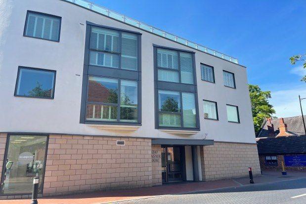 2 bed flat to rent in Bird Street, Lichfield WS13