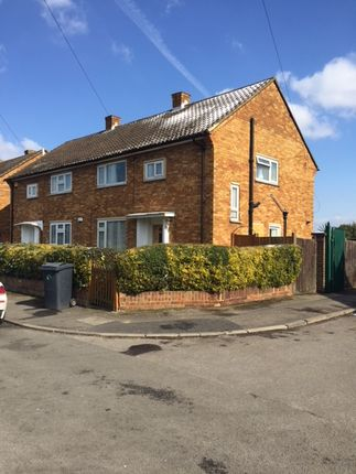 Thumbnail Semi-detached house to rent in Romsey Close, Slough