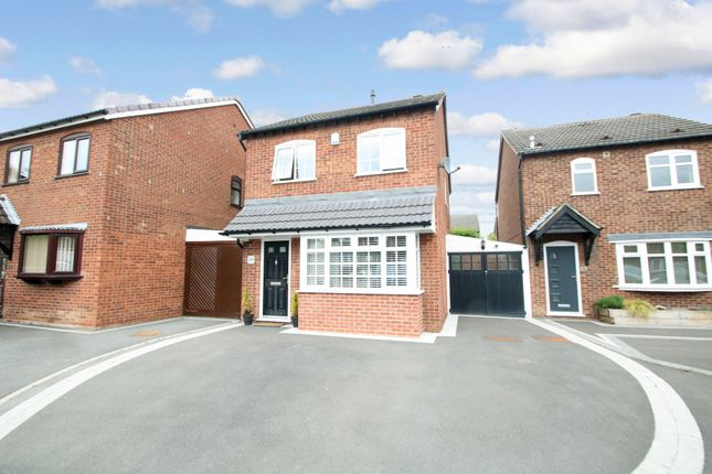 Thumbnail Detached house for sale in Ensor Drive, Polesworth, Tamworth