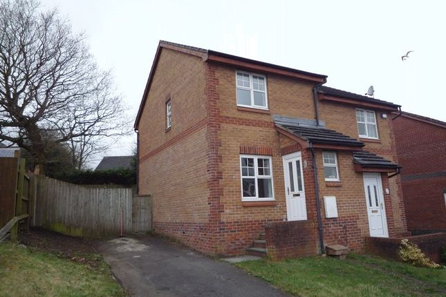 Thumbnail Semi-detached house to rent in Coed-Y-Felin, Barry