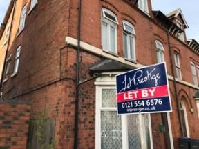 Thumbnail Flat to rent in St Peters Road, Handsworth