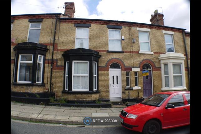 Thumbnail Terraced house to rent in Burdett Street, Liverpool