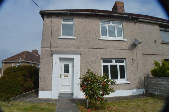 Thumbnail Semi-detached house for sale in Kier Hardie Road, Baglan, Port Talbot