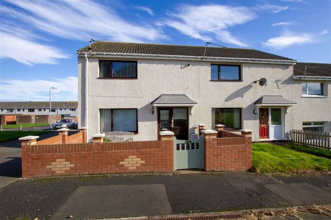 Thumbnail End terrace house for sale in Newfields, Berwick-Upon-Tweed, Northumberland