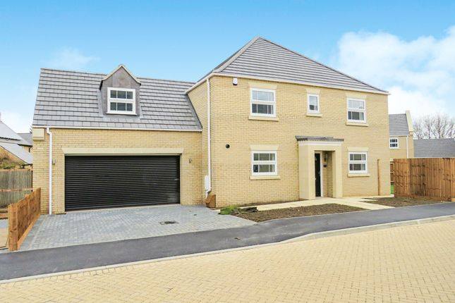 Thumbnail Detached house for sale in Penwald Court, Peakirk, Peterborough