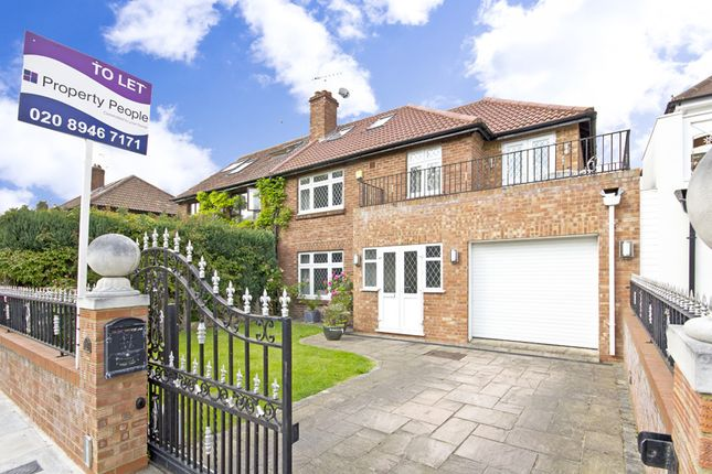 Thumbnail Semi-detached house to rent in Burnell Avenue, Richmond
