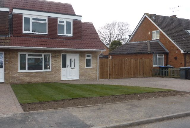 Thumbnail End terrace house for sale in Canford Drive, Addlestone