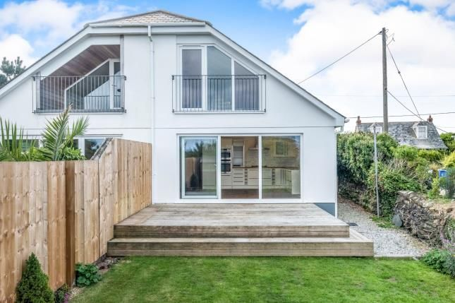 Thumbnail Semi-detached house for sale in Trevone Bay, Padstow, Cornwall