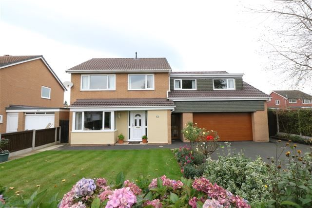 Thumbnail Detached house for sale in Brunstock Close, Lowry Hill