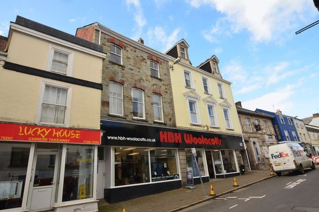 Thumbnail Flat to rent in Flat 3, 62 Fore Street, Bodmin