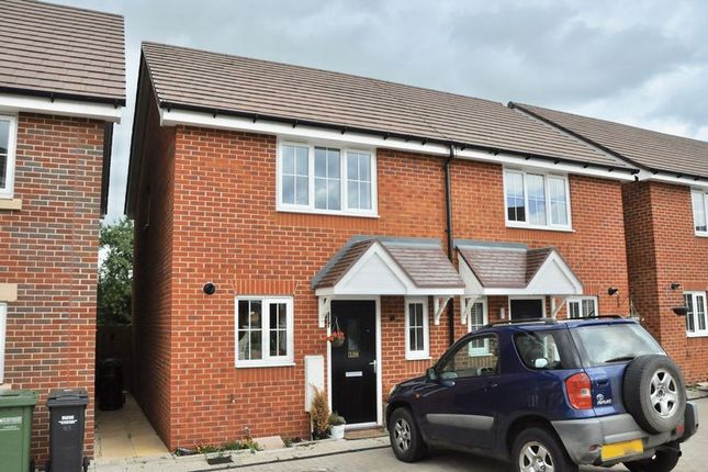Thumbnail Semi-detached house for sale in Hawthorn Close, Honeybourne, Evesham