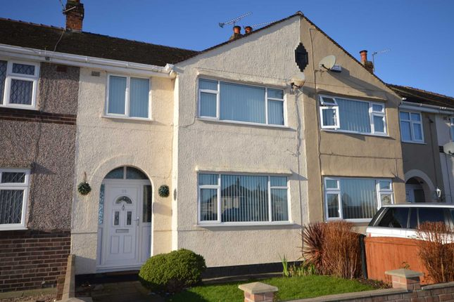 Thumbnail Terraced house to rent in Fairway North, Bromborough, Wirral