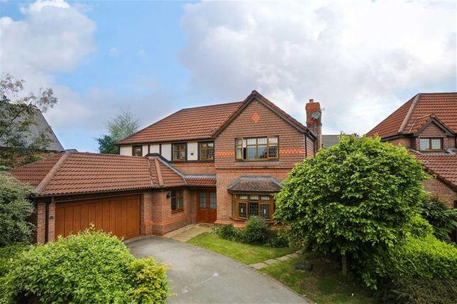 Thumbnail Detached house for sale in Swarbrick Avenue, Grimsargh, Preston