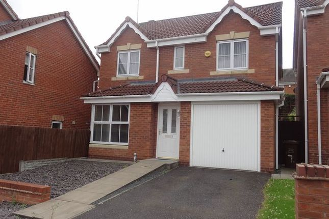 Thumbnail Detached house to rent in Monarchy Close, Rugeley