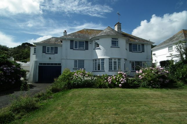 Thumbnail Detached house to rent in Marine Drive, Hannafore, West Looe