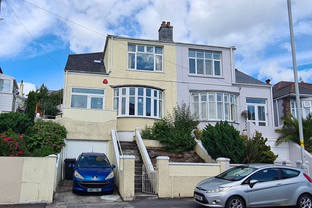Thumbnail Semi-detached house for sale in Weston Park Road, Peverell, Plymouth