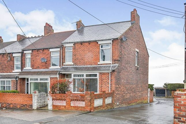 Thumbnail Terraced house for sale in Findon Hill, Sacriston, Durham