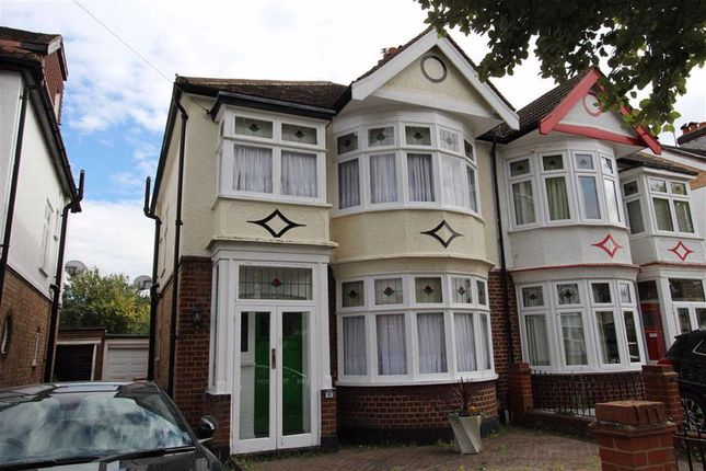 Thumbnail Semi-detached house for sale in Balgonie Road, North Chingford, London