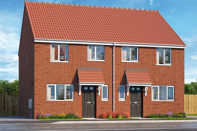 "Thumbnail Property for sale in ""The Hadley"" at Brook Park East Road, Shirebrook, Mansfield"