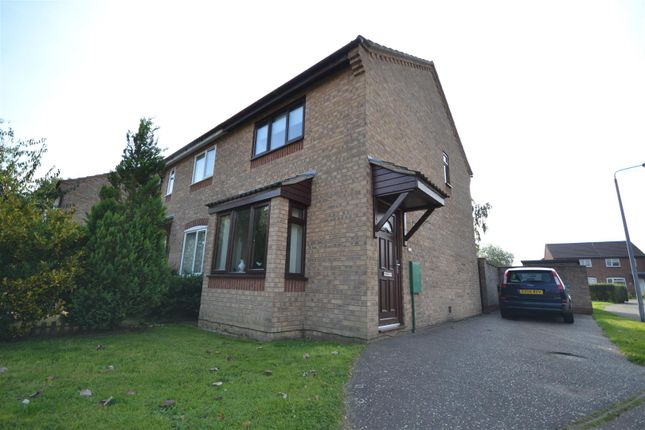Thumbnail Semi-detached house for sale in Long Stratton, Norwich