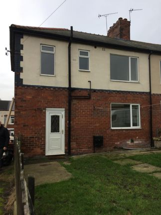 Thumbnail Semi-detached house to rent in Barnsley Road, Hemsworth, Pontefract