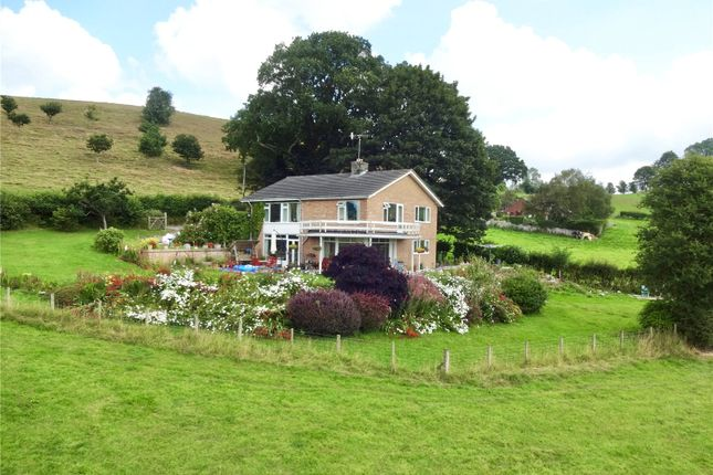 Thumbnail Detached house for sale in Llangyniew, Welshpool, Powys
