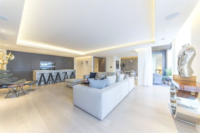 Thumbnail Flat for sale in Dockside House, Chelsea Creek, Fulham