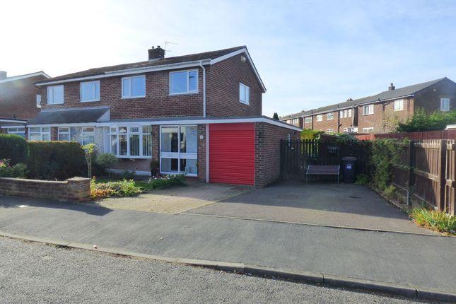Thumbnail Semi-detached house for sale in Ashdown Avenue, Durham