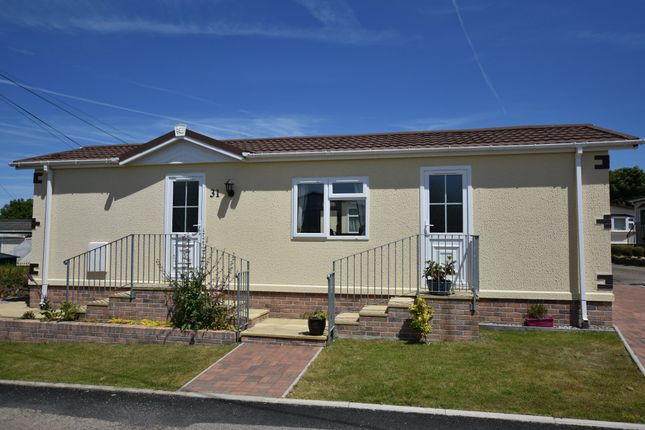 Thumbnail Mobile/park home for sale in Rosewarne Park, Higher Enys Road, Camborne, Cornwall
