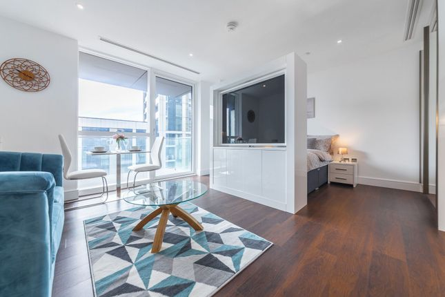 Studio to rent in Maine Tower, 9 Harbour Way, London E14