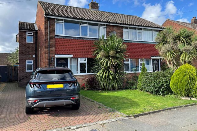 Thumbnail Semi-detached house for sale in Western Drive, Shepperton