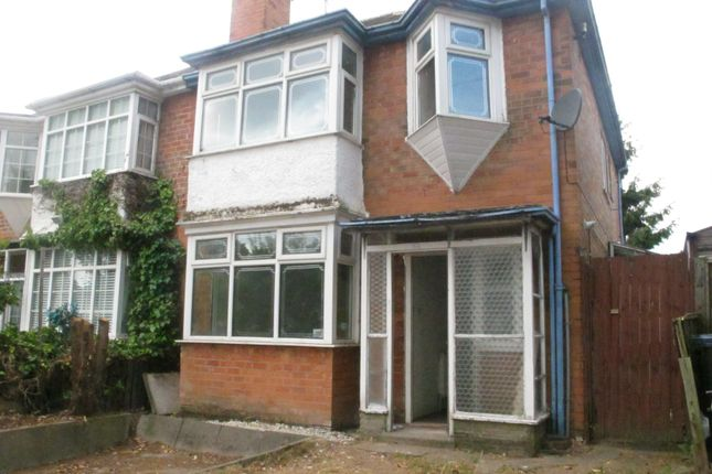 Thumbnail Property to rent in Bleak Hill Road, Erdington, Birmingham