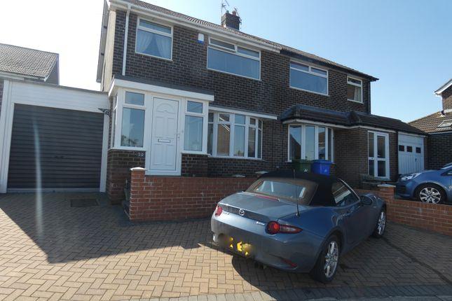 Thumbnail Semi-detached house for sale in St. Ronans Drive, Seaton Sluice, Tyne & Wear