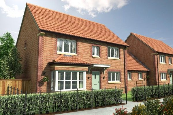 Thumbnail Link-detached house for sale in Winding Way, Darlington, County Durham
