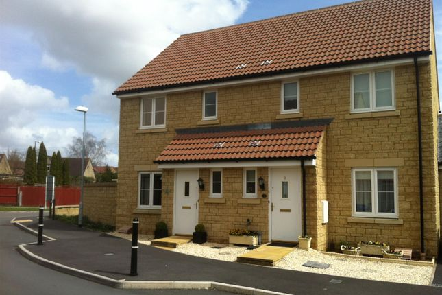Thumbnail Semi-detached house to rent in Poole Road, Malmesbury, Wiltshire SN169Fg