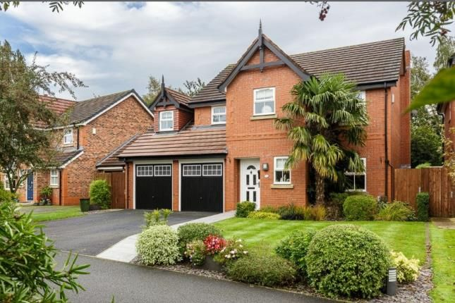 Thumbnail Detached house for sale in Saltmeadows, Nantwich, Cheshire