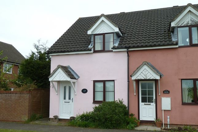Thumbnail End terrace house to rent in Wattisfield Road, Walsham-Le-Willows, Bury St Edmunds