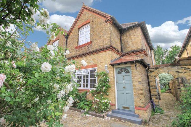 Thumbnail Semi-detached house for sale in Lock Road, Ham, Richmond
