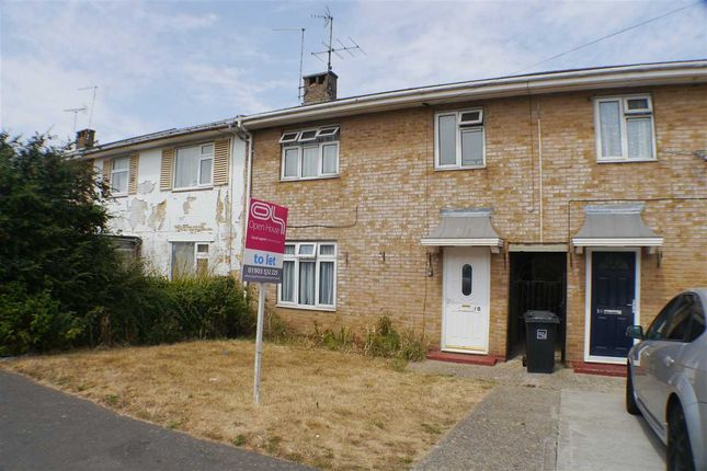 Thumbnail Terraced house to rent in The Quadrant, Goring-By-Sea, Worthing