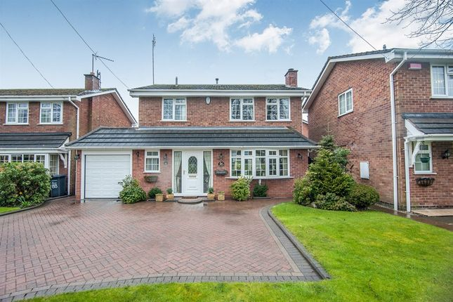 Thumbnail Detached house for sale in Coleshill Road, Curdworth, Sutton Coldfield