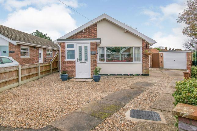 Thumbnail Detached bungalow for sale in Peacock Close, Carlton Colville, Lowestoft